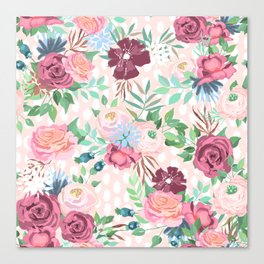 floral xii Canvas Print