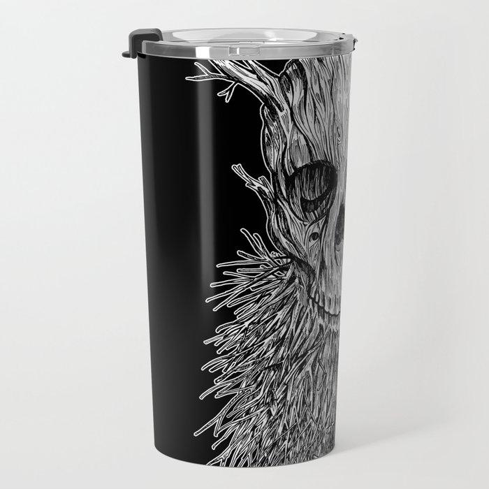 Lumbermancer B/W Travel Mug