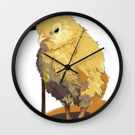 Chicks, Man. Chicks Wall Clock
