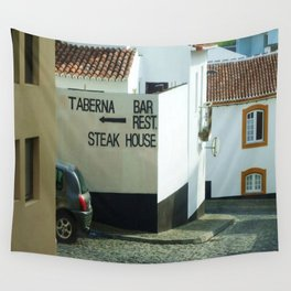 Portuguese Steak House Wall Tapestry