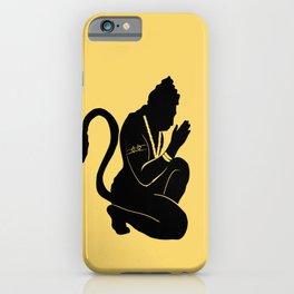 Jai Hanuman iPhone Case