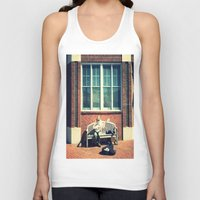 nashville Tank Tops featuring Spirit of Nashville by Peacockbutterfly  Art