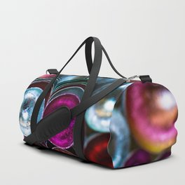 Coloured Metal Coated Cups Duffle Bag