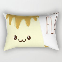 Biggest-Flan Rectangular Pillow