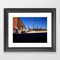 Johnny Sequential Framed Art Print