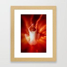 Cozmogonizm Series #18, Color Film, Analog, Art Photo, NUDE Framed Art Print