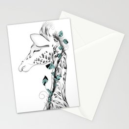 Poetic Giraffe Stationery Cards