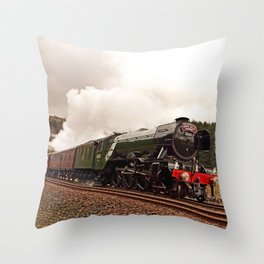 Flying Scotsman 60103 Throw Pillow