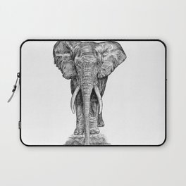 Elephant at the water hole. Laptop Sleeve