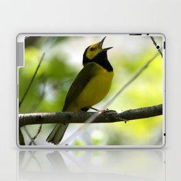 Hooded Warbler Laptop & iPad Skin