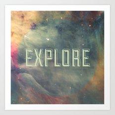Explore III Art Print