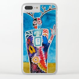 The Desert is Calling Me Clear iPhone Case