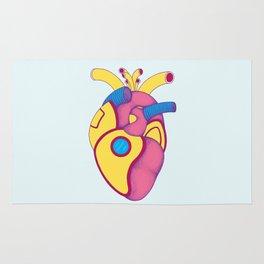 Yellow Submarine Heart Rug