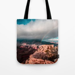 Rainbow over the Canyon Tote Bag