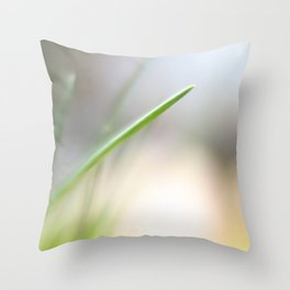 A Single Chive Throw Pillow
