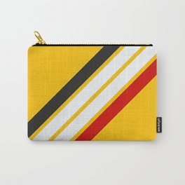 Oldschool Retro Stripes Carry-All Pouch