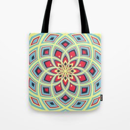 Spiral Rose Pattern D 3/4 Tote Bag