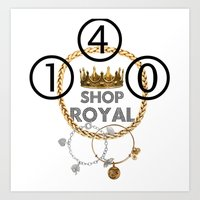 Shop Royal Art Print