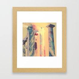 Pillar of Life Framed Art Print