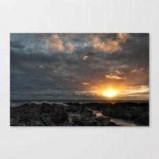 Croyde bay Canvas Print