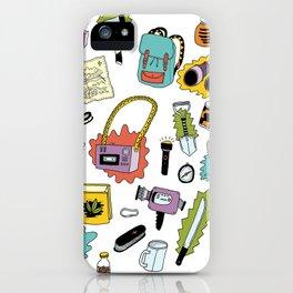 Survival Tools iPhone Case