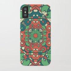 Traditional pattern design Slim Case iPhone X