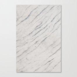 Marble Silver Glitter Glam #1 #shiny #gem #decor #art #society6 Canvas Print