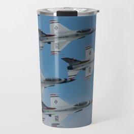 USAF Thunderbirds Diamond 4 Travel Mug