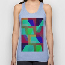 Colorful Truth. Green. Unisex Tank Top