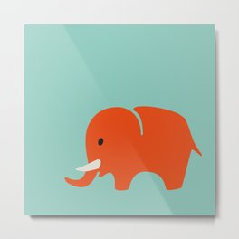 Kids elefant Metal Print