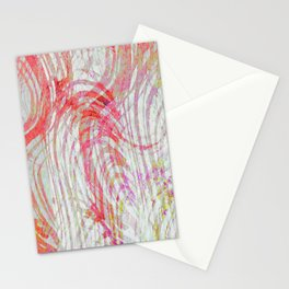 Wind Blowing In The Desert Stationery Cards