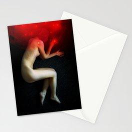 Cozmogonizm Series #08, Color Film, Analog, Art Photo, NUDE Stationery Cards