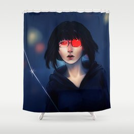 Saika Shower Curtain