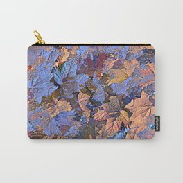 MAGIC THIMBLEBERRY ORANGE AND BLUE Carry-All Pouch