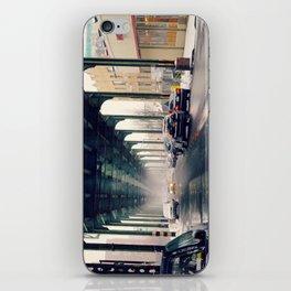 Light Snow Under the Subway iPhone Skin