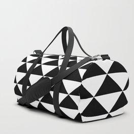black white Duffle Bag