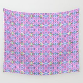 Swirl Heart Pattern Wall Tapestry