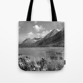 Tern Lake - Mono 2 Tote Bag