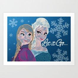 Let it Go... Art Print