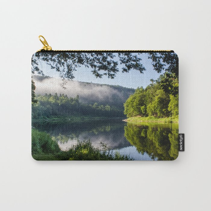 The River's Reflection Carry-All Pouch