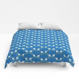 Geometrical Matisse's birds Comforters