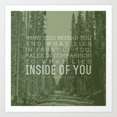 Inside of You Art Print