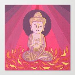 Buddha H Canvas Print