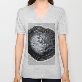 The Hole (Black and White) Unisex V-Neck