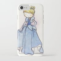 cinderella iPhone & iPod Cases featuring Cinderella by malipi