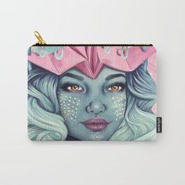 Tsuru Origami Girl Carry-All Pouch