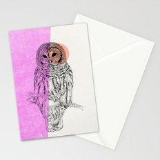 Techno Owl Stationery Cards