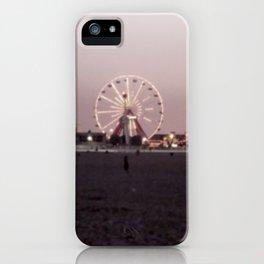 Farris Wheel at Night iPhone Case
