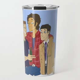 Supernatural: Team Free Will Travel Mug