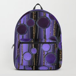Retro Chic lilac Backpack